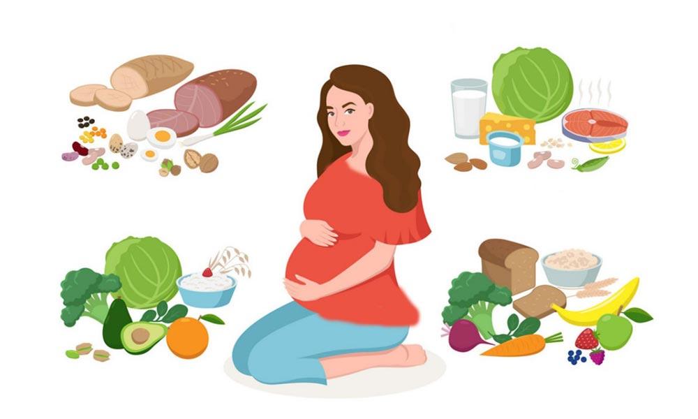 تغذیه مادر در دوران بارداری