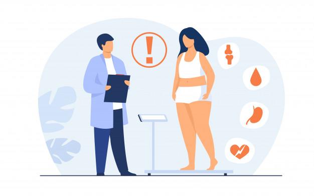 تنبلی تخمدان و اضافه وزن